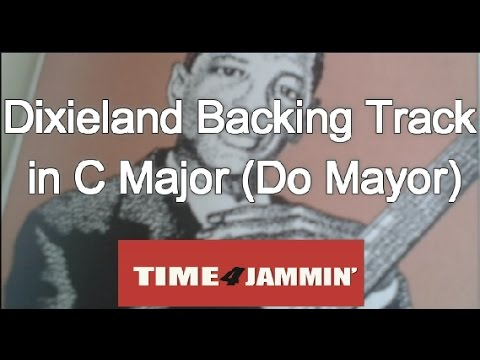 Dixieland  Backing Track in C Major (Do Mayor)Traditional Jazz