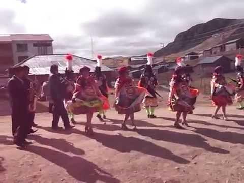 LOS ANDES DE PUCARA (PASCO HUAYLLAY ) FIESTA  PATRONAL 24 DE JUNIO 2015