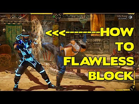 How To Flawless Block In MK11