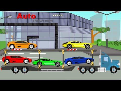Auto Transport Truck | Kids Video  | Bajki Dla Dzieci | Tir Transport - Laweta