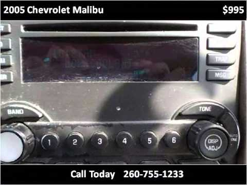 2005 Chevrolet Malibu Used Cars Fort Wayne good credit bad c
