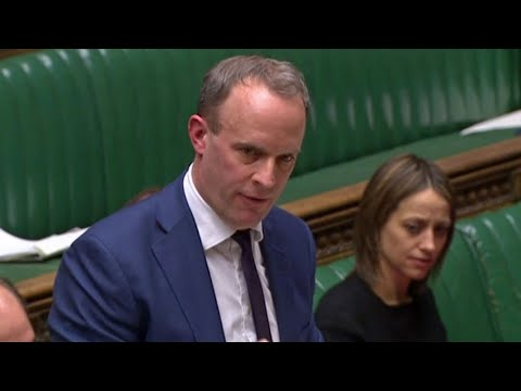 video: Politics latest news: Dominic Raab admits risk in UK telecoms cannot be eliminated after Huawei given role in 5G