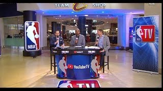 Warriors vs Cavaliers Game 3 Look Ahead | 2018 NBA Finals | NBA GameTime