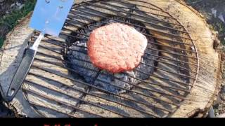 How To Make A Homemade Bbq Grill - From A Round Of Wood