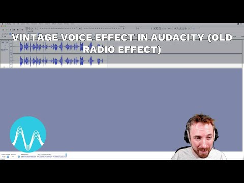Vintage Voice Effect in Audacity (Old Radio Effect)