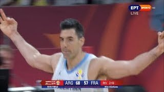 Argentina - France 80-66 Basketball World Cup 2019 Semi-Final. (13/09/2019)