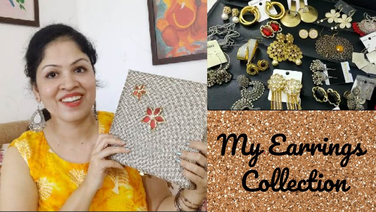 My Earrings Collection | Trendy & Cool earrings | New Beginnings Pallavi