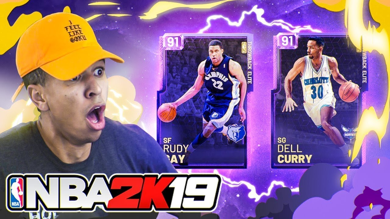 New Throwback Myteam Cards Rudy Gay Is Op Nba 2k19 Myteam