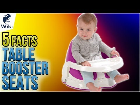 Table Booster Seats: 5 Fast Facts