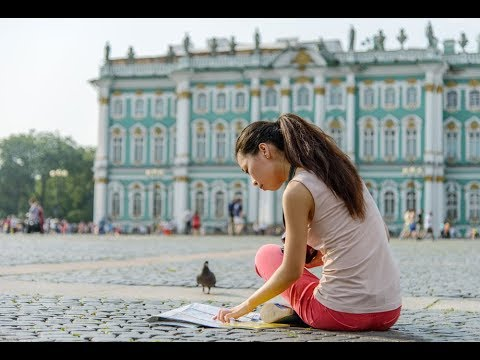 Saint Petersburg a dream city. travel and learn
