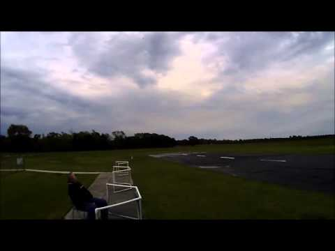 RC 1/4 Scale Corby Starlet Some Aerobatics & Fast Passes