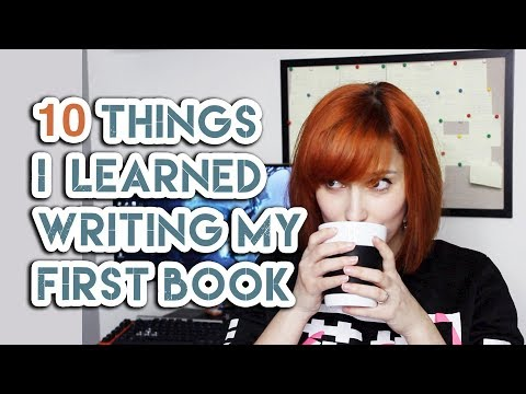 10 Things I Learned Writing My First Book