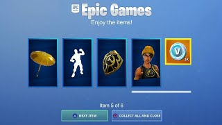 VOICI HOW FREE ALL SKINS ON FORTNITE! thanks to that...
