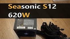 Seasonic S12 II 620W unboxing review
