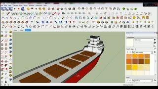how to make ship on google sketchup