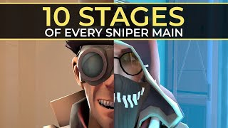 The 10 Stages of Every Sniper Main