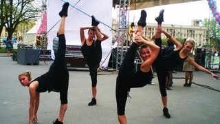 Художественная гимнастика в танцах.rhythmic gymnastics in the dance
