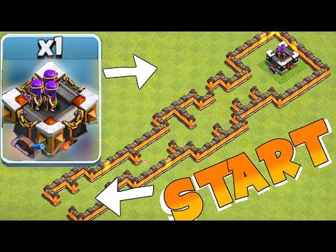 HOW MANY CAN LVL 15 TOWER SHOOT!?! | CLASH OF CLANS | TH9 TROLL BASE!!