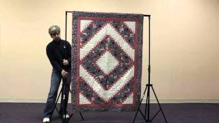 How To Set Up A Quilt Display Stand (original Model)