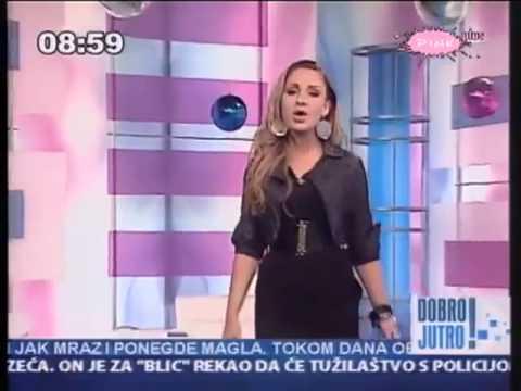 Katarina Zivkovic - Ako se rastanemo jednom - ( JUTARNJI PROGRAM - TV Pink ) - 31.12.2010.