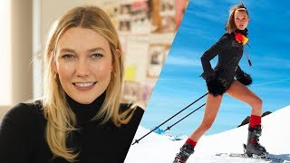 I Faked Knowing How to Ski for French Vogue | Fashion Stories | Karlie Kloss