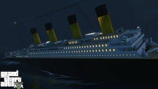 Titanic Mod GTA 5 (GTA 5 PC Mods Gameplay)