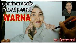 Download Video Proses dan cara melukis realis pakai pensil warna MP3 3GP MP4