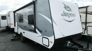 Haylettrv.com - 2016 Jayco Jay Feather 7 Model 18rbm Ultralite Murphy Bed Travel Trailer Rv