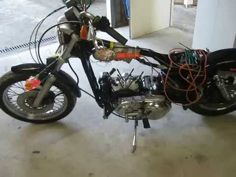 Evo sportster top end rebuild 2 - install piston and rings