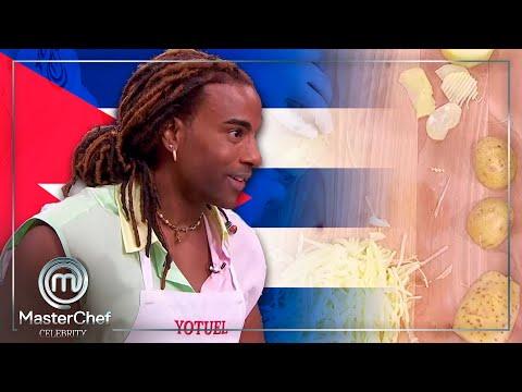 """""""No olvido de dónde vengo"""": Yotuel se inspira en Cuba en el primer reto   MasterChef Celebrity 6"""