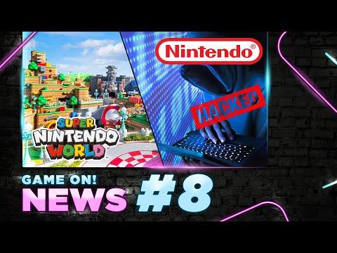Game On! News#08: Mở Cửa Công Viên Super Nintendo World | Cái Giá Phải Trả Khi Hack Nhầm Ông Lớn
