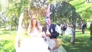 Невеста поет песню любимому Свадебный клип (видео Екатерина Пухальская 89180529043)