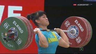Чемпионат мира 2015. Женщины в.к.  до 69 кг.