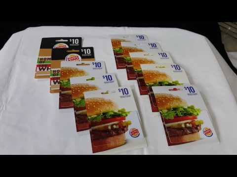 Dollar General Burger King Gift Cards