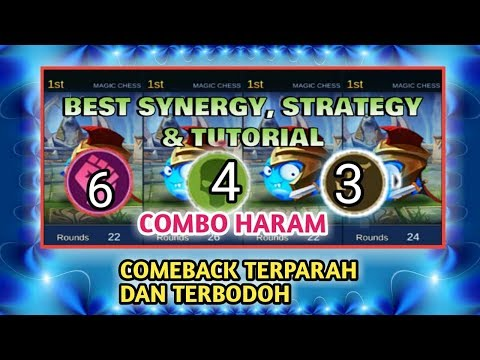BEST SYNERGY UNDEAD WRESTLER COMBINATION & STRATEGY - MAGIC CHESS GAMEPLAY Mobile Legends Bang Bang - 동영상