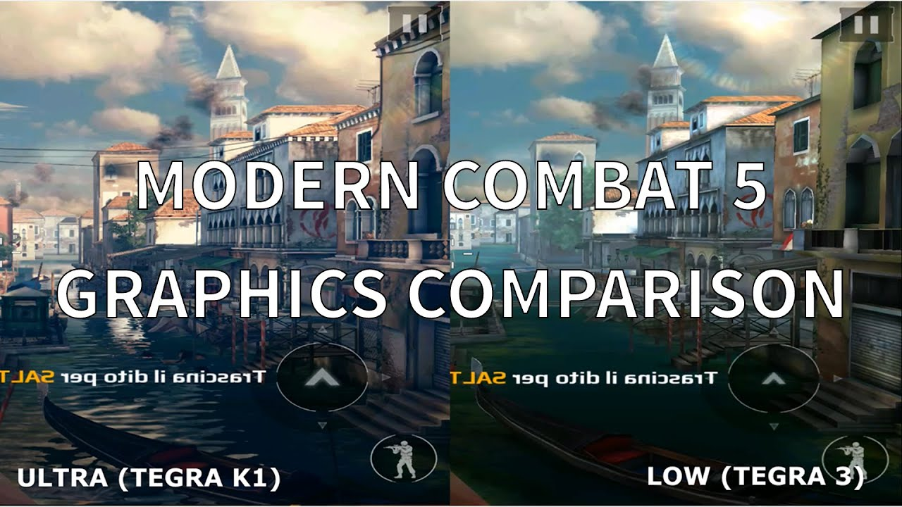 How To Set Ultra Graphics: Modern Combat 5 Ultra Vs Low (Graphics Comparison)