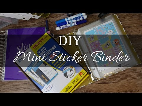 Making a Sticker Binder | How To
