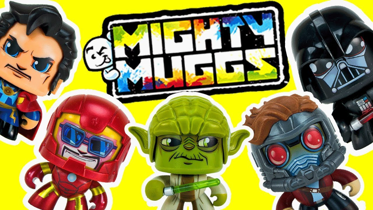 Surprise Unboxing of Mighty Muggs from Marvel and Star Wars Christmas Toys