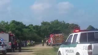 Así fue el operativo para atender accidente de Avioneta en el Río Magdalena