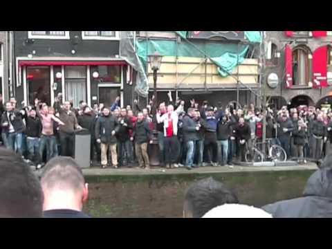 Ajax - Manchester United prologue (Feb 16, 2012)