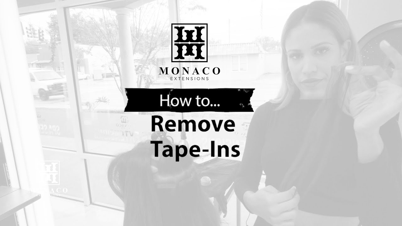 How To: Remove Tape-in extensions