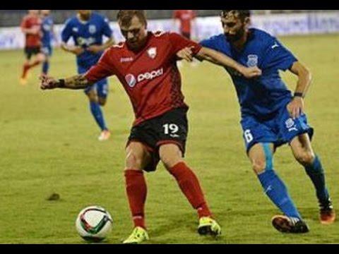 FK Qabala - Apollon Limassol 1-0  Goal & Highlight.