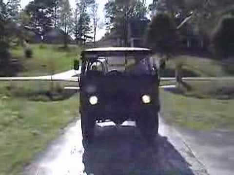 Driving the Pinzgauer