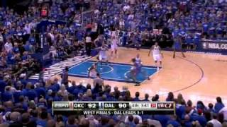 Mavericks vs Thunder Game 5 NBA Western Conference Finals 05/25/11
