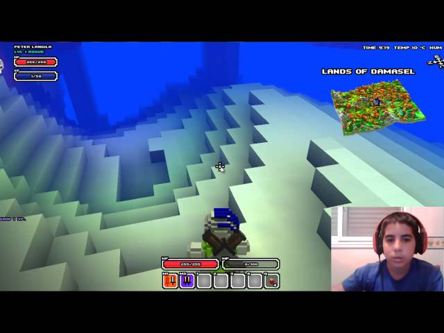 Cube World episodio 1  ¡Un nomuerto en tierras ostiles! Videos De Viajes