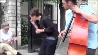 �������� ���� Французские уличные музыканты / French buskers ������