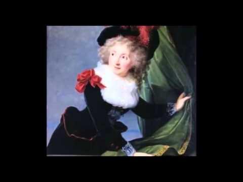 "Vigée Le Brun'ün ""Madam Perregaux"" İsimli Tablosu (Madame Perregaux)"