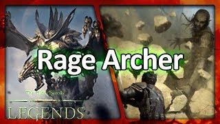 (TES: Legends) Rage Archer Laddering - The Cheesiest Werebat
