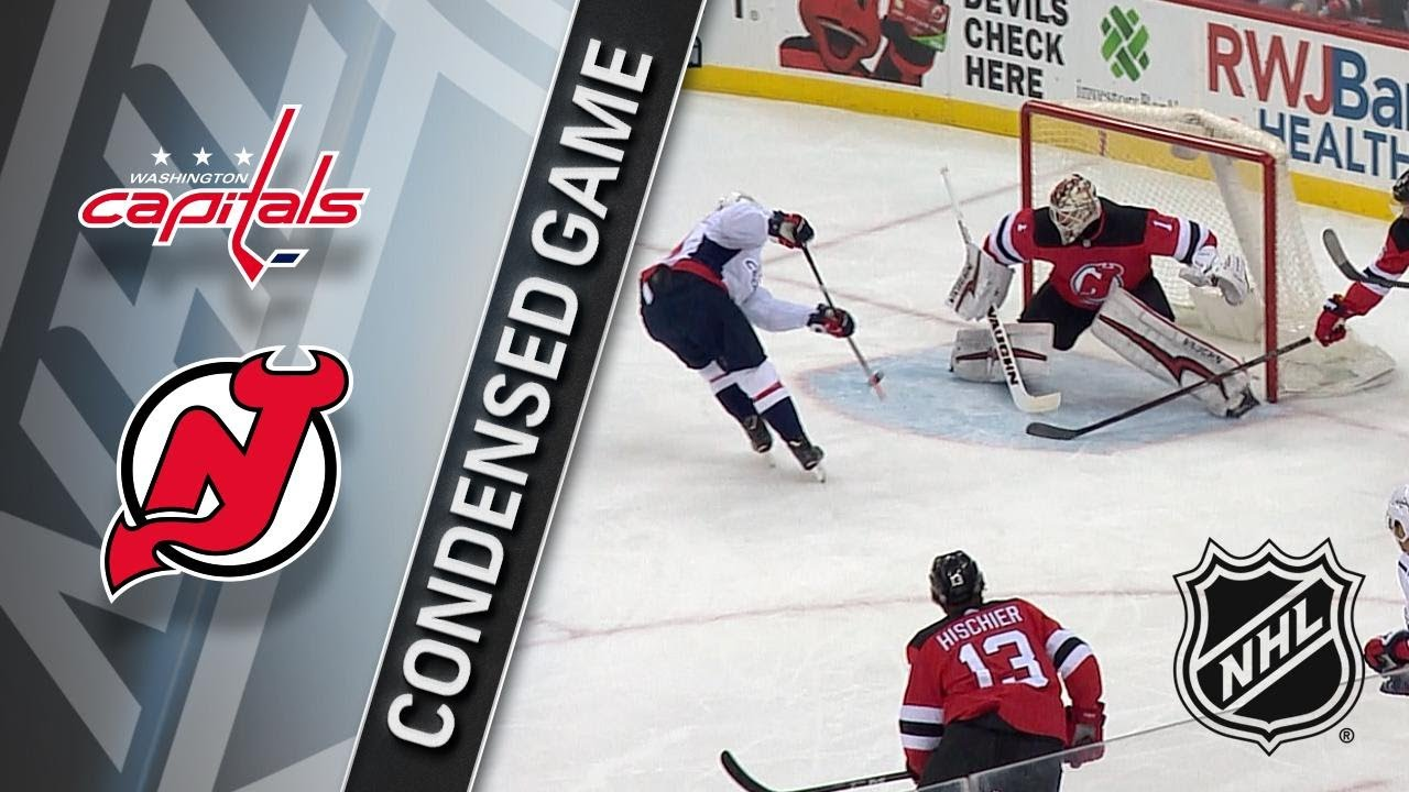 01 18 18 Condensed Game  Capitals   Devils - YouTube e74cdcc23d5