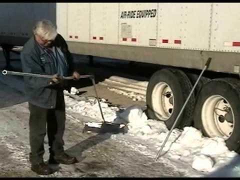 Snow Rake On Trailer Youtube